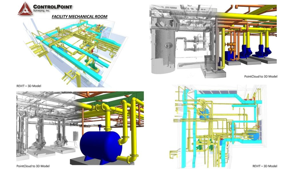 facility mechanical room \u2013 controlpoint surveying inc Vector Mechanical Plans